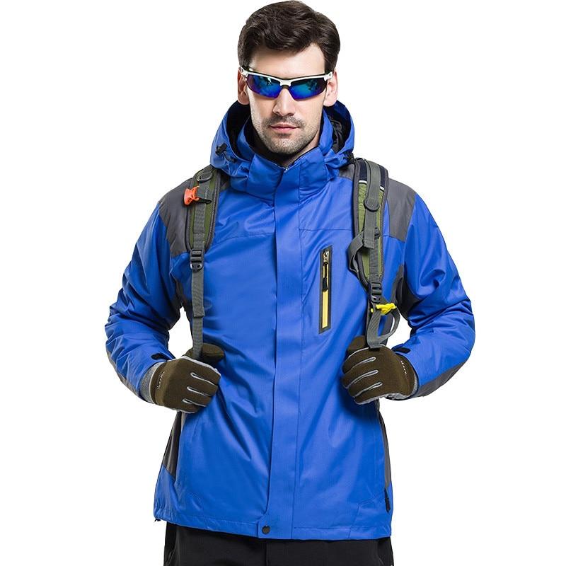 Grizzilla ulkona vedenpitävä hiihto lumilautailutakit miehillä ja naisilla kolmesta yhdessä lämpövaellusleirillä hengittävä takki
