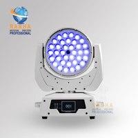 Марка доверия Раша LED перемещение головы wash 36pcs * 10 Вт 4in1 зум, LED перемещение головного света с Сенсорный экран Дисплей, powercon