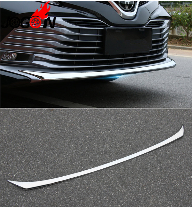 Exterior Parts Chromium Styling Shop For Cheap For Toyota Camry Xv70 L Le Xle 2018 Front Head Fog Lamp Light Cover Trim Frame Decoration Abs Chrome