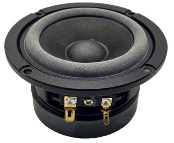 2 PCS 3F-5 Aucharm 3 pouces HIFI pleine fréquence haut-parleur coulée en aluminium cadre en fiber de carbone cône 8ohm 10 W Dia 91mm Ronde