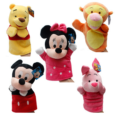 New Hot Lovely Baby Kids Toys Cute Cartoon Animal Hand Puppet Story Tell Props juguetes brinquedos jouet enfant Gifts