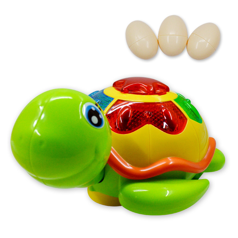 Lay Eggs Clockwork Tortoise Toy Children Plastic Cute Little Animal Turtle Wind Up Toys Kids Educatinal Toys Random Color