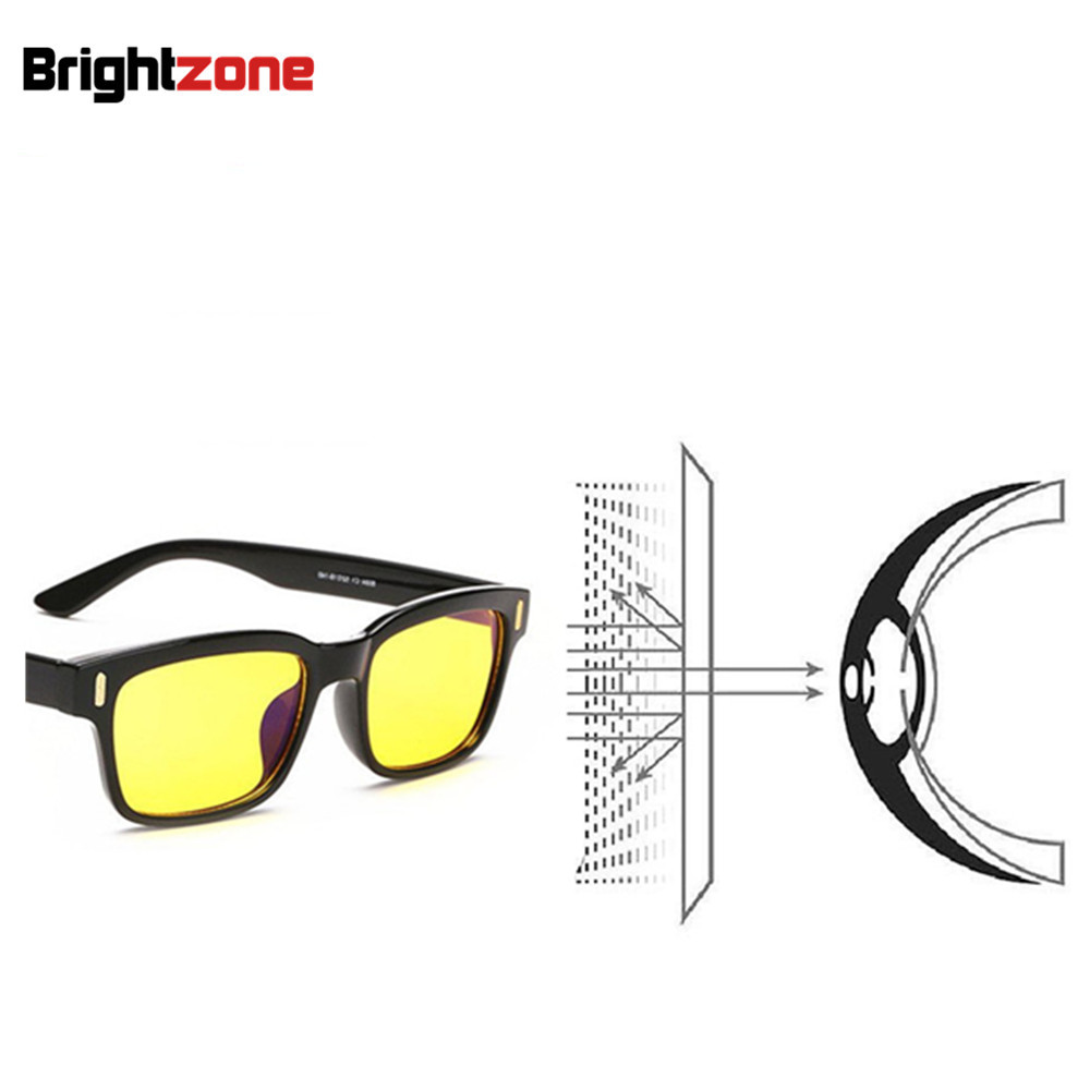 7ae6242da85 2018 Anti Blue Rays Computer Goggles Reading Glasses 100% UV400  Radiation-resistant Glasses Computer Gaming Glasses 20 20 20Rule