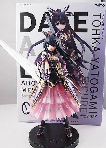 Japan Taito Anime Prize Date A Live Yatogami Tohka Princess Figure 17cm tall