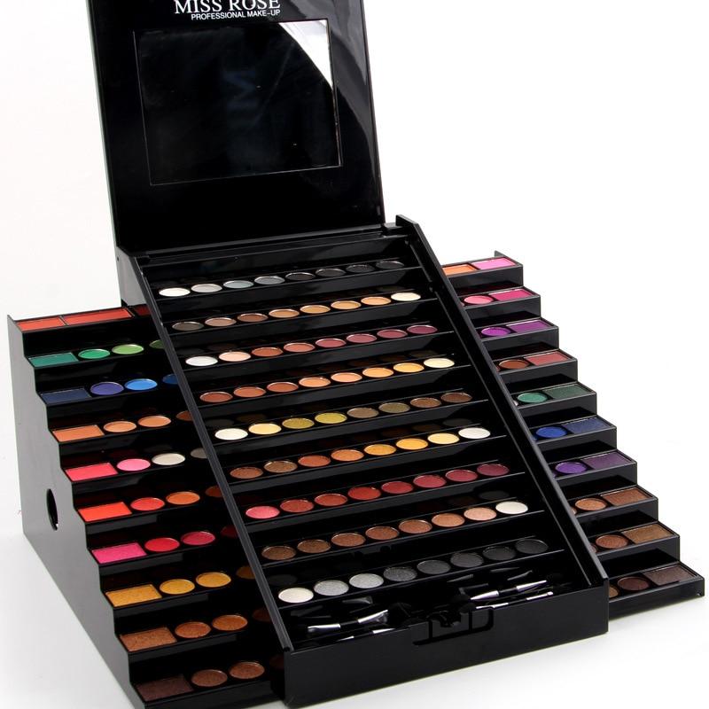 Miss Rose Aluminum Case Professional Make-Up Set Elegrant