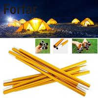 2pcs Set Hot Outdoor Camping Tent Pole Aluminum Alloy Tent Rod Spare Replacement Tent Support Poles