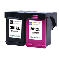 2pcs X For Hp 301 Ink Cartridge For HP 301 301XL HP301 DeskJet 1050 2050 2050s