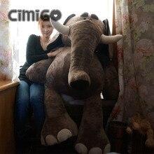 huge plush elephant toy big lovely cartoon elephant doll hug elephant toy gift doll about 140cm