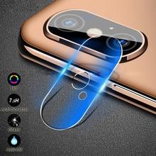 b30d8f623 Cámara lente película para iphone X XS X Max XR Protector de pantalla de  vidrio templado de vidrio Protector en iphone 7 6 Plus .