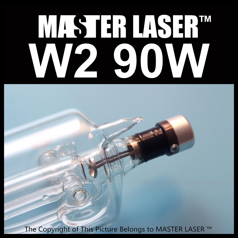 reci Laser Tube w2 90w Length 12mm Dia 80mm Peak Power 110w Hobby Laser Cutting Machine free shipping reci w2 90w co2 laser tube wooden box packing tube length 1200mm diameter 80mm