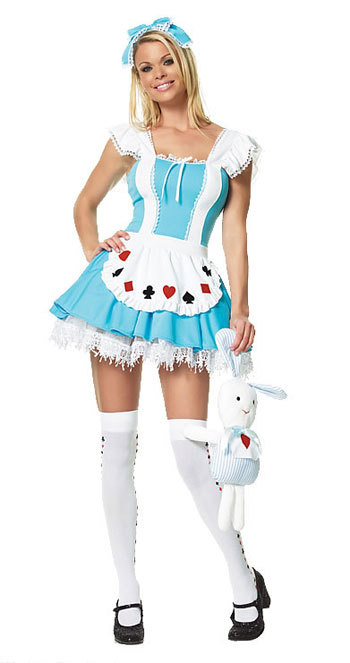 DHL Free Shipping ML5093 Sweet Girl In Wonderland Sexy Palace Fairy Tales Costume Adult Cosplay Costume Girl Party Dress