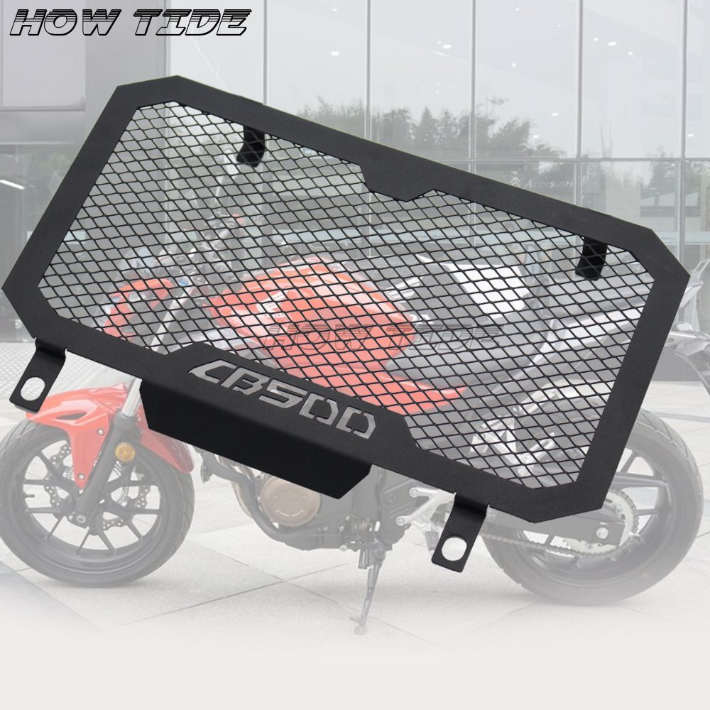 Motorcycle high quality Engine Radiator Guard Grille Cover For Honda CB500F 2013-2015 <font><b>CB500X</b></font> 2013 - <font><b>2018</b></font> image