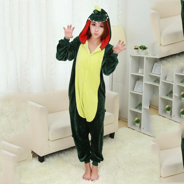 4ad08d94f Fashion Dinosaur Pajamas Lovely Cartoon Animal Costume Women s Cute ...