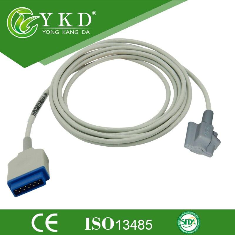 GE Dash 2500 oximax module Pediatric Soft Tip spo2 sensor 11pins
