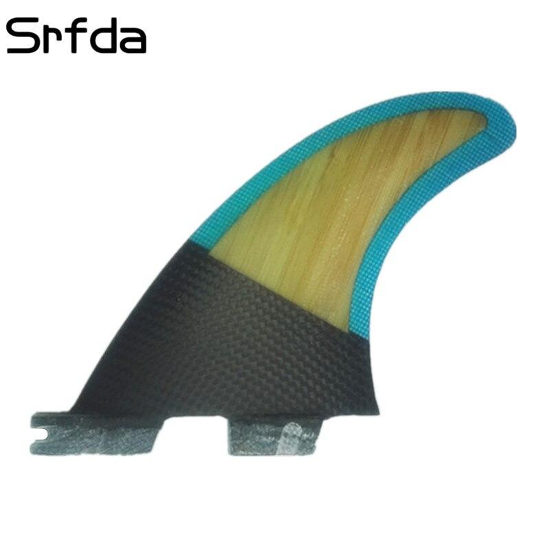 Srfda Livraison gratuite planche de surf fin Haute qualité FCS II G5 G3 Surf en fiber de verre de miel peigne matériel pour surf TAILLE S/M