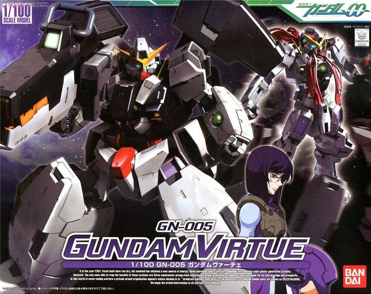 Oyuncaklar ve Hobi Ürünleri'ten Aksiyon ve Oyuncak Figürleri'de Gundam HG 00 TV 1/100 Virtue Mobil Takım Elbise Monte Model Kitleri Aksiyon Figürleri Plastik Model Oyuncaklar'da  Grup 1