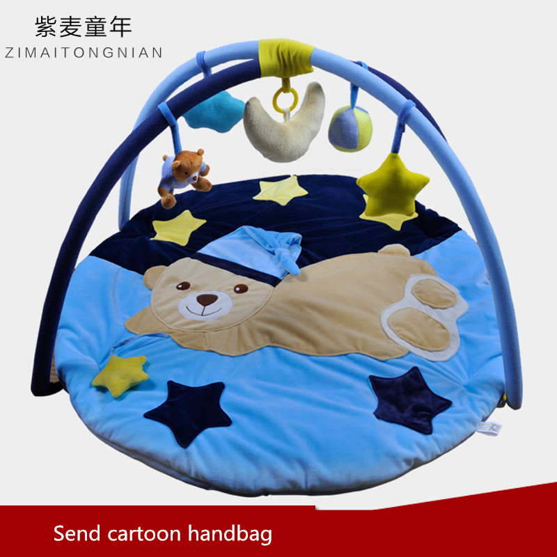 Autumn and winter newborn supplies baby gift male gift music game blanket toy