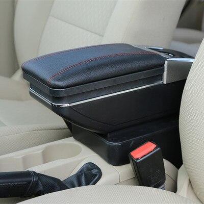 Фото поворотный автомобильный консольный ящик для kia k2 rio 2011 цена