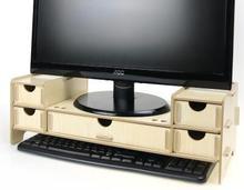 Выше компьютер стеллаж кронштейн деревянный контракт ящики с получать полку B095