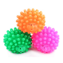 New Design Pet Dog Cat Toys Chew Rubber Hedgehog Sound Toy For Dog Pet Mascotas Perros Honden Speelgoed Hund Cani Chien 10cm
