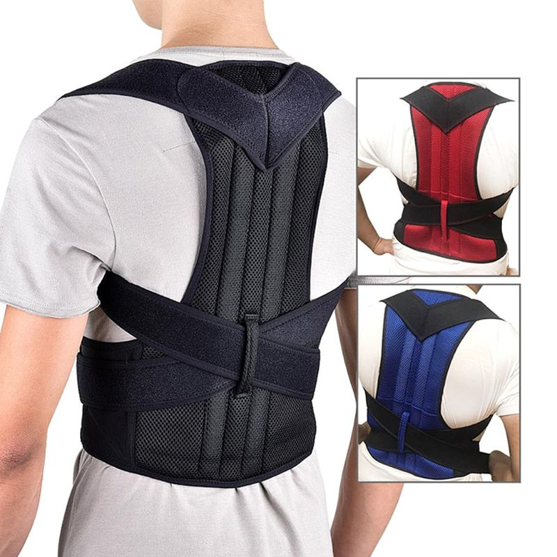 Kyphosis Correction Back Belt Spine Humpback Posture Correction Shoulder Corrector Support Brace Belt Therapy For Children Stude