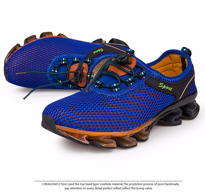 Super Cool breathable running shoes men sneakers bounce summer outdoor sport shoes Professional Training shoes plus size 28
