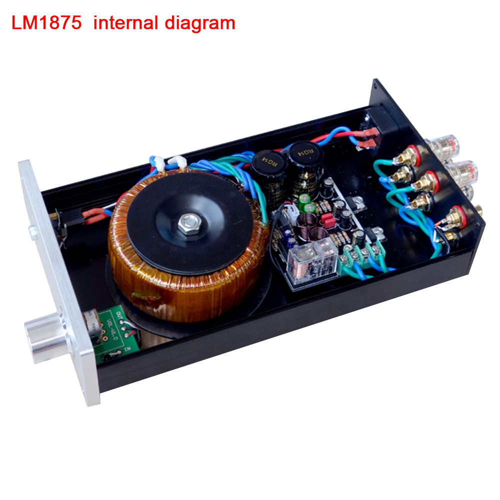 Tda1514a Chip Power Amplifier Board Finished Super Lm3886 50w Hi Fi Audio Using Tda1514 Electronic Schematic Circuit Custom Classic Black Gold Commemorative Edition Lm1875 68w 2