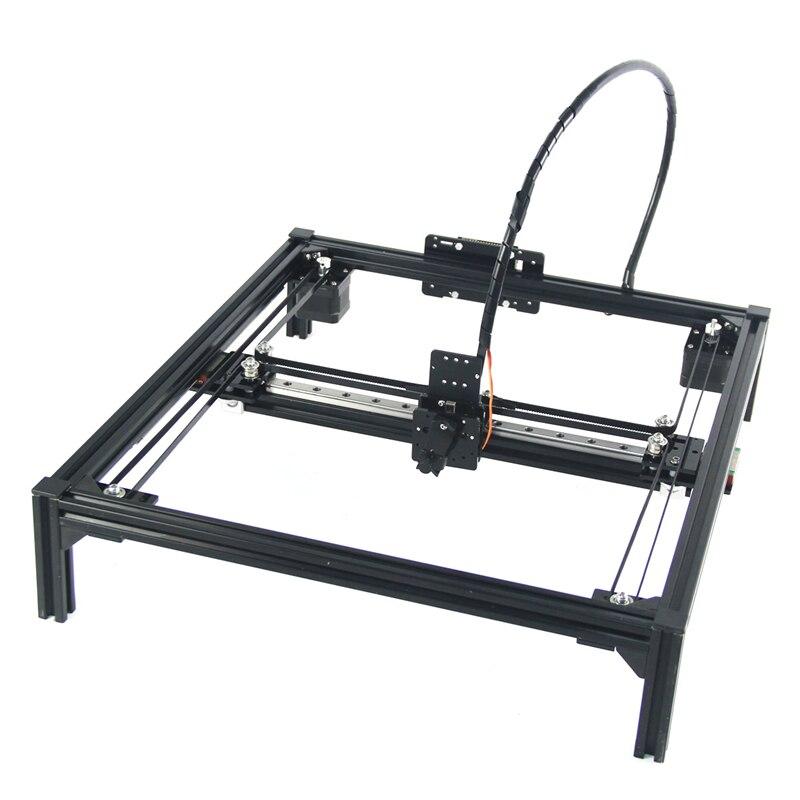 DIY LY Drawbot Stift Zeichnung Roboter Maschine Schriftzug Corexy Führungsschiene Version A4 A3 Gravur Bereich Rahmen Plotter Roboter Kit