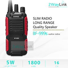 Hot 5W Baofeng bf 999s Plus Walkies Uhf Radio 999(2) two way radio transceiver for security,hotel,ham BF999s update of 888s