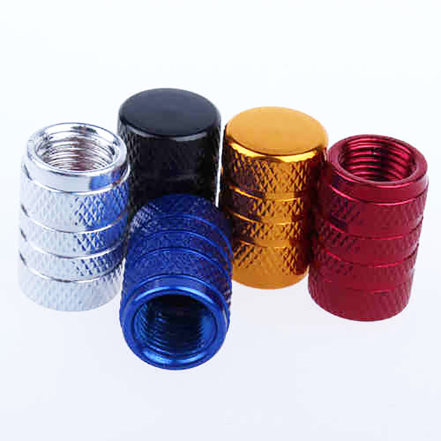 4Pcs Bike Wheel Tire Covered Car Motorcycle Truck universal Tube Tyre Bicycle AV SV American AIR Valve Cap Dustproof 10 colors 1