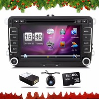 2 Din Car Dvd Gps In Dash Vw Polo Car Dvd GPS Radio Tuner MP3 USB
