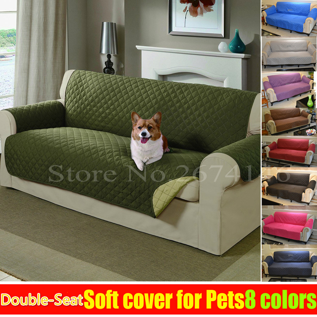 Beau Free Shipping Dog Double Seat SOFA Reversible Furniture Protector Features  For Cats Pet Nonslip Chair
