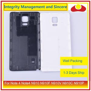 Image 3 - 10 шт./лот для Samsung Galaxy Note 4 Note4 N910 N910F N910V N910C N910P корпус батарейного отсека задняя крышка корпус