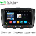 HD 1024*600 ROM 16 GB Quad Core Android 5.1.1 DVD Do GPS Do Carro Fit Kia Sorento 2012 2013 2014 Sorento Estéreo Rádio 4G WiFi OBD DVR