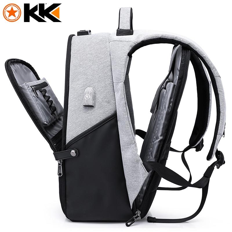 """Кака мода путешествия Для мужчин рюкзак для сумка для ноутбука 15,6 """"USB для подзарядки большой Ёмкость Anti theft школьный рюкзак мужской Mochila"""