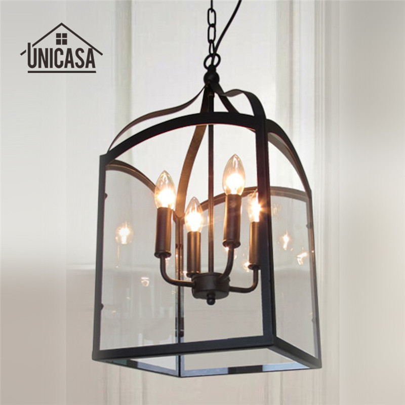 Vintage Pendant Light Industrial Lighting Living Room Lamps Hotel Kitchen Island LED Lights Porch Antique Pendant Ceiling Lamp art deco vintage industrial metal wire cage pendant light guard rustic ceiling mounted lamp cafe pub hotel porch bar