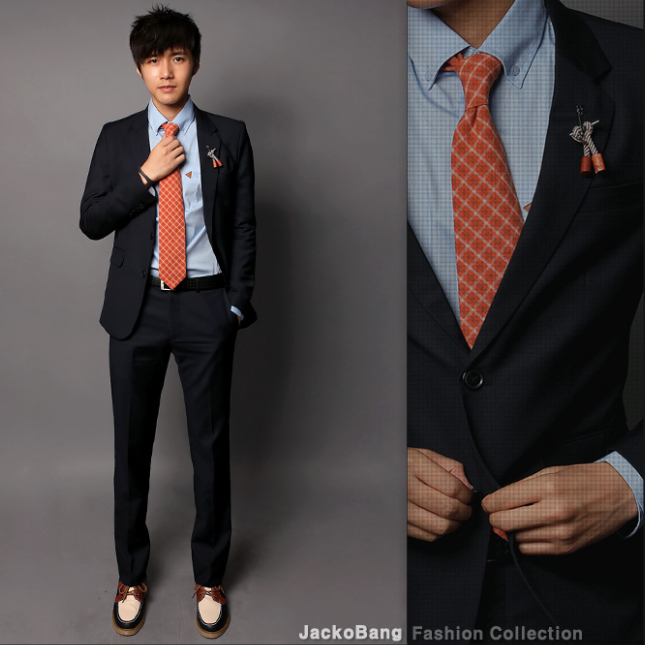 2016 Korean Version Of Casual Men S Suits Slim Business Career Work Job Interview N4 In From Clothing Accessories On Aliexpress
