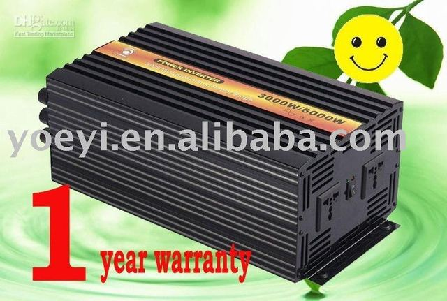Factory sell dc12v/24v to ac 110v/220v 3000w pure sine wave solar inverter/ power  inverter/home inverter free shipping