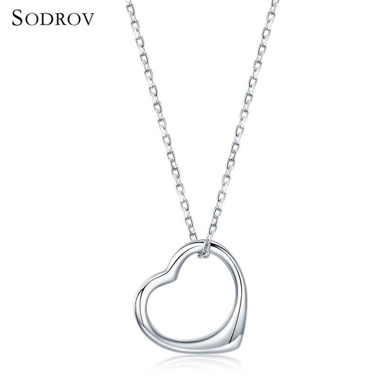 0e55b525268f Comprar 100% Auténtica Plata De Ley 925 Clásico Colgante Corazón ...