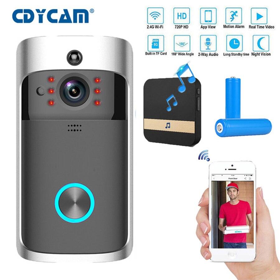 Cdycam IP Video Intercom WI FI Video Door Phone Door Bell WIFI Doorbell Camera For Apartments