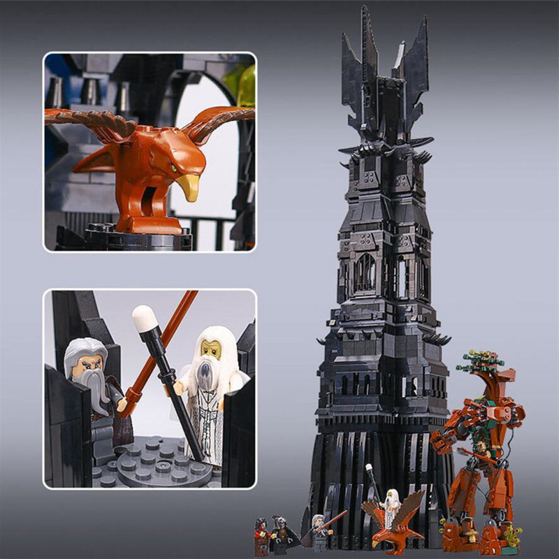 IN STOCK XYTMC 16010 2430Pcs Lord of the rings Lord of the rings LEPIN Model set Building Kits LEGOYUG 10237 Free shipping free shipping 10pcs lf412cn dip8 in stock