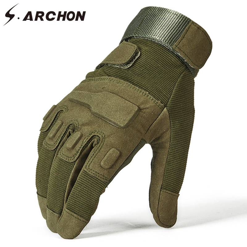 SWAT Special Forces Military Full Finger Gloves Men Police Soldier Paintball Tactical Mitten Airsoft Shoot Combat Glove