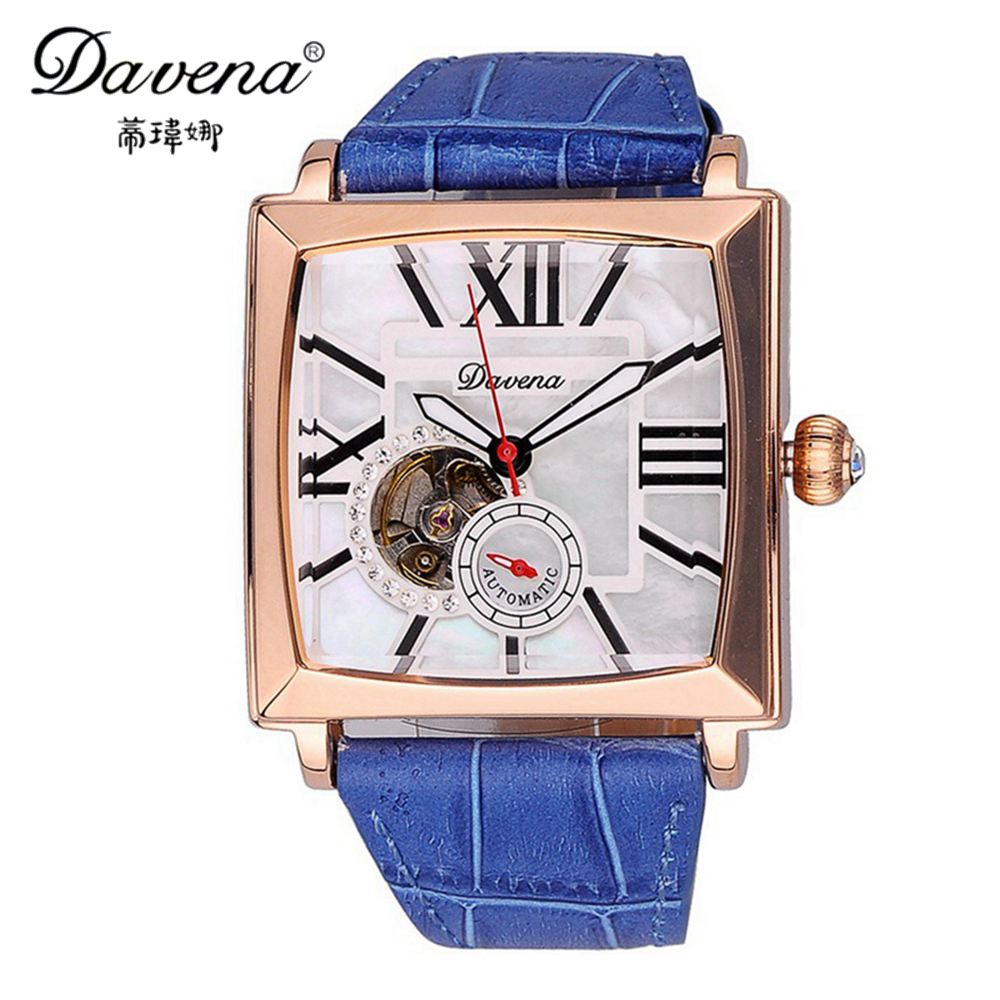 2017 New Ladies Mechanical Automatic Self-wind Wristwatch Hot Women Dress Watches Fashion Casual Clock Female Best Davena 30158 binger genuine gold automatic mechanical watches female form women dress fashion casual brand luxury wristwatch original box