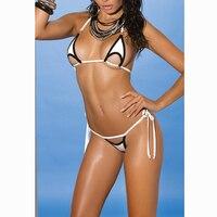 String Micro Bikini Triangle Brazilian Mini Bikinis Set 3