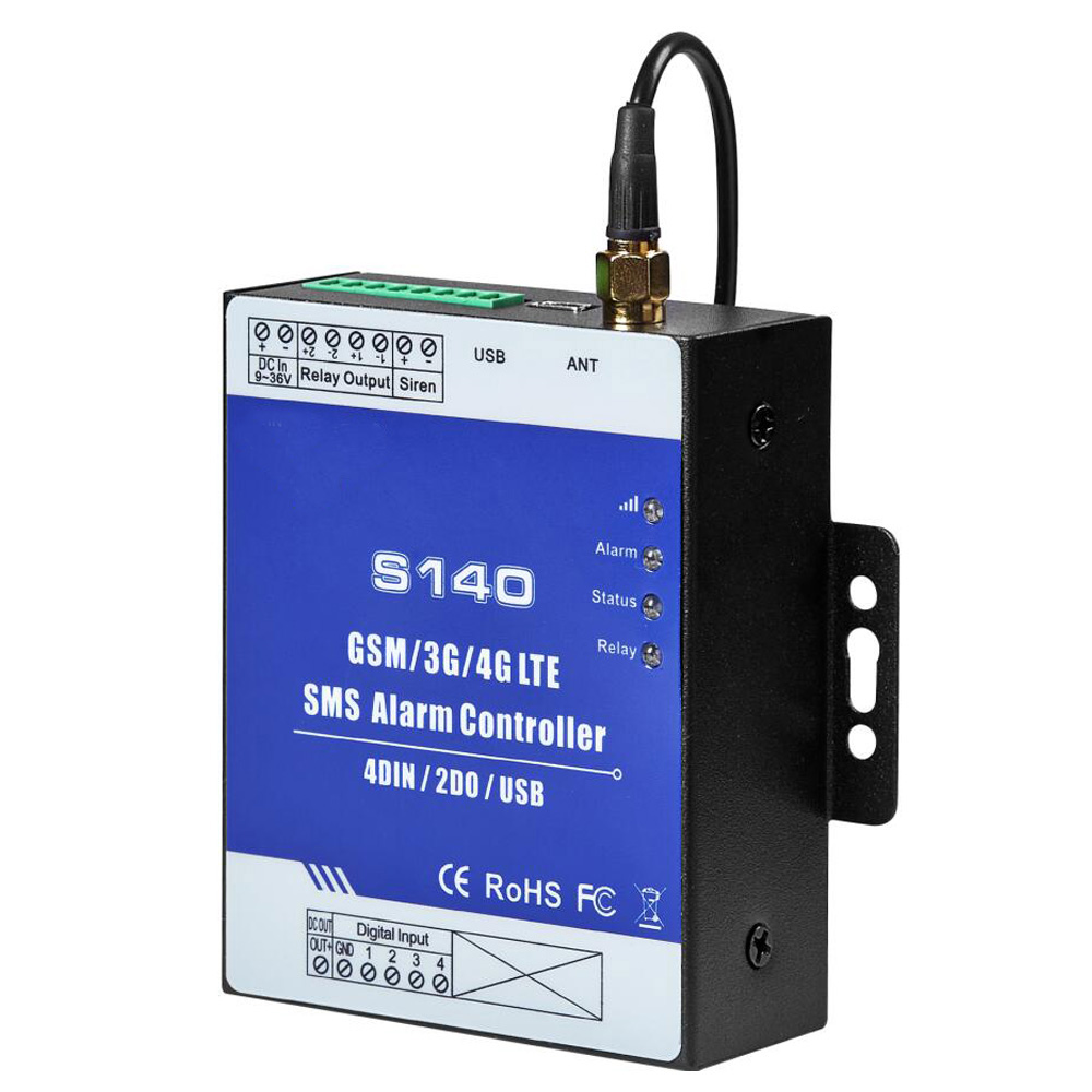 3G IOT RTU SMS Remote Terminal Unit for Meteorological Weather Stations Monitoring in-built watchdog 4DI+2RO недорого