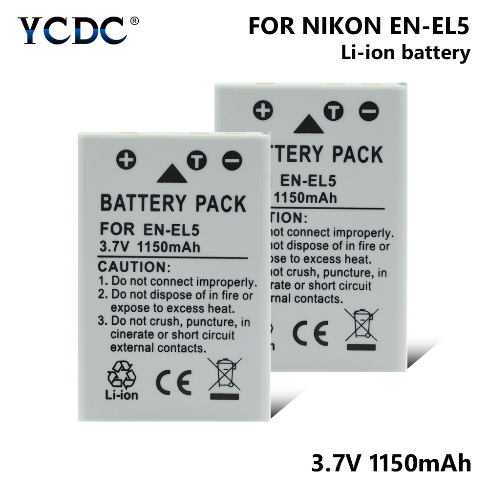EN-EL5 Battery For Nikon Coolpix 3700 4200 5200 5900 7900 P3 P4 P80 P90 P5100 P6000 P80 P90 P100 P500 P510 P520 P530 S10EN-EL5 Battery For Nikon Coolpix 3700 4200 5200 5900 7900 P3 P4 P80 P90 P5100 P6000 P80 P90 P100 P500 P510 P520 P530 S10