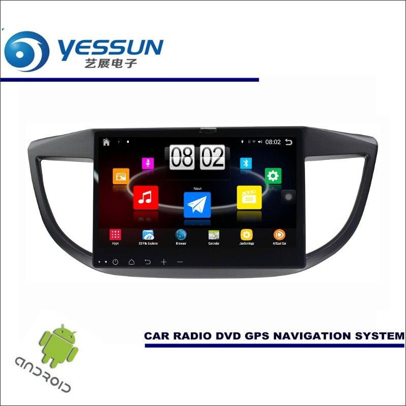 Yessun автомобиля Android мультимедийный плеер для Honda CR-V/cr V 2012 ~ 2017 Радио стерео GPS nav навигация (без CD DVD) 10 HD Экран
