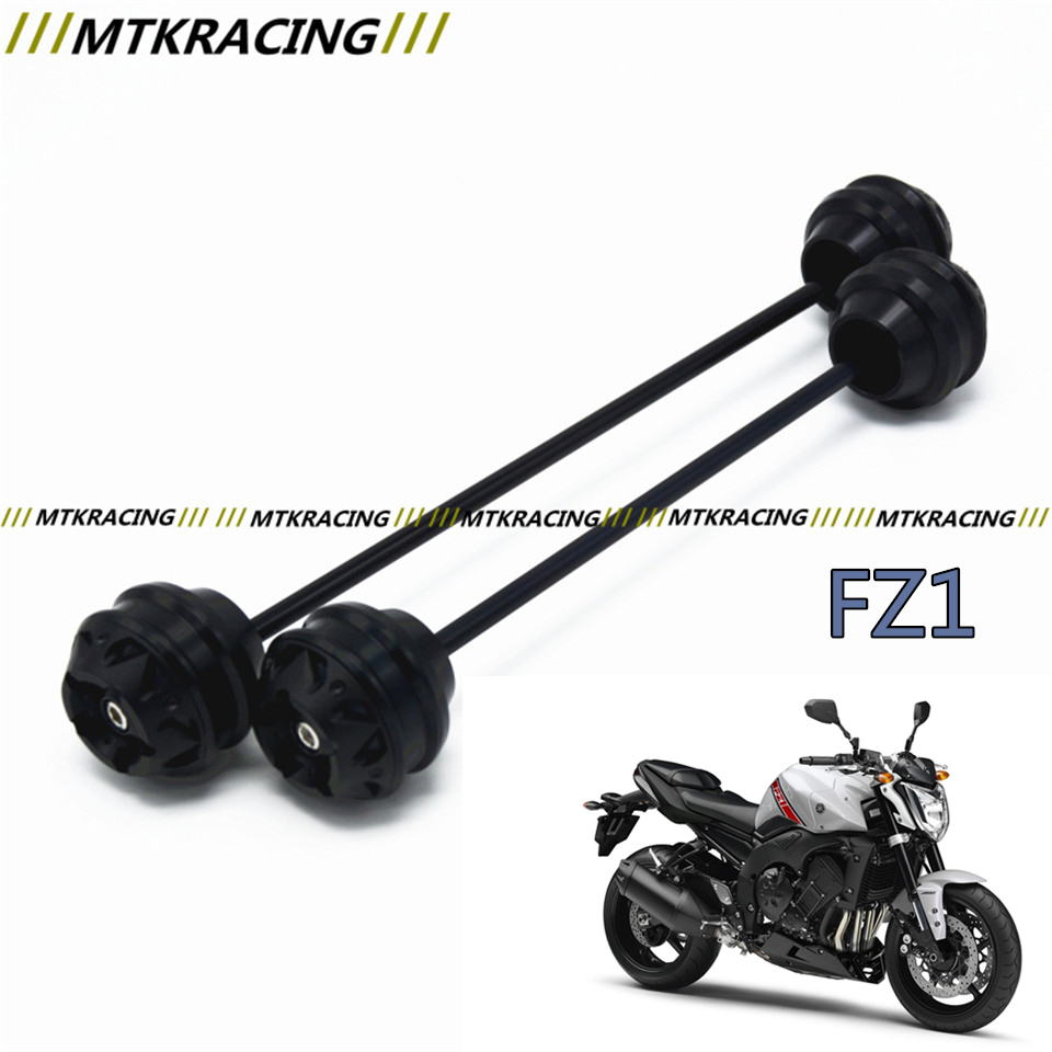 MTKRACING Free delivery for YAMAHA FZ1 2008-2015 CNC Modified Motorcycle Front wheel drop ball / shock absorber free delivery for ducati monster s4r 2003 2008 cnc modified motorcycle drop ball shock absorber