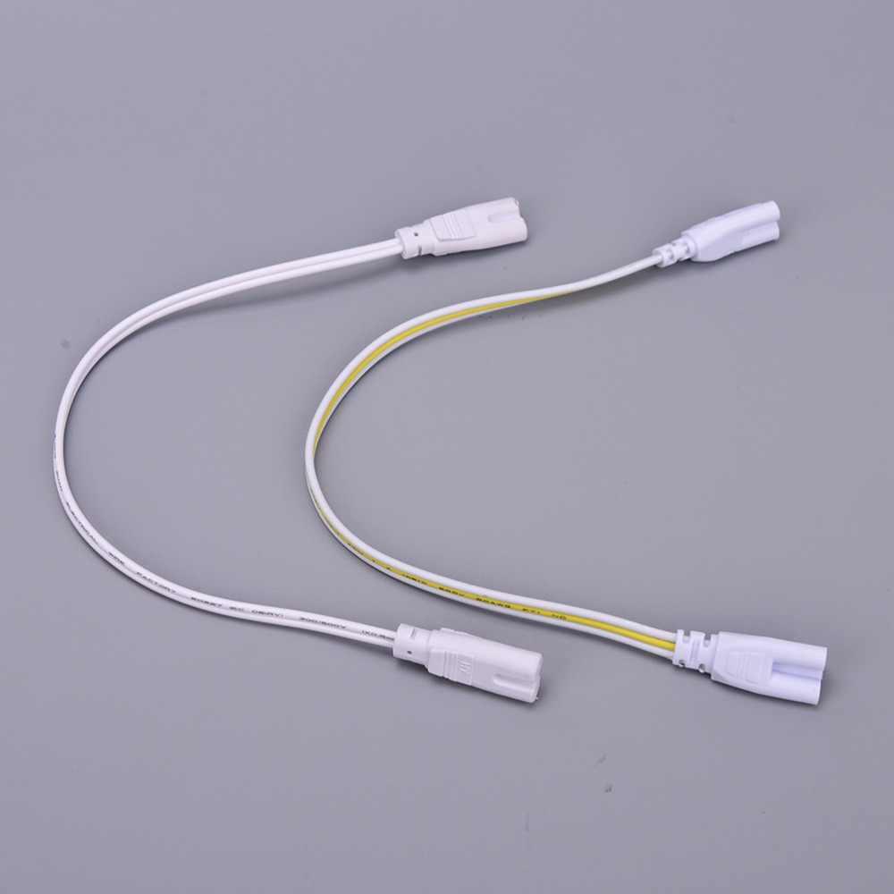 2 Pcs 30 cm 3 pin LED Hai-giai đoạn Double-end Cáp Dây Ba-giai đoạn T4 T5 t8 Led Đèn Chiếu Sáng Kết Nối Ống Nối
