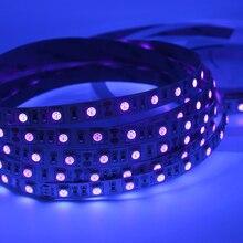 Ribbon Light Led-Strip Flexible-Tape Ultraviolet 60leds/m Led Diode Uv-Lamp 5050 SMD